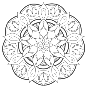 Mandala Coloring Pages Printable Coloring Sheets For Kids Adults Patterns Monograms Stencils Diy Projects