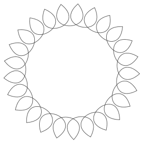 Free printable Printable Beginner Mandala.  These mandala coloring pages and coloring sheets are for adults, children, and beginners to download, print and colour.