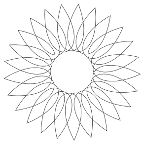 Free printable Vector Circle Art Design.  These mandala coloring pages and coloring sheets are for adults, children, and beginners to download, print and colour.