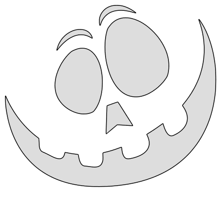 Happy pumpkin carving stencil, pattern, template, halloween decoration, Jack O Lantern,  print download free svg vector.