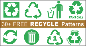 Recycle Symbols and Signs.