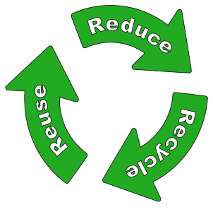 Free printable Reduce Reuse Recycle (RRR).  green logo icon vector clipart design recycle recycling clean save environment svg vector image.