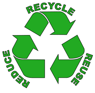 Free printable RRR (Reduce Reuse Recycle).  green logo icon vector clipart design recycle recycling clean save environment svg vector image.