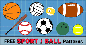 Sports and Ball Patterns.