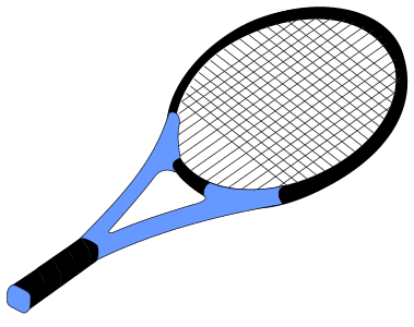 Tennis Racket.  Use these printable sports balls patterns, stencils, templates for decorations, coloring pages, Cricut designs, silhouette, vector and svg cutting machines, woodworking patterns.