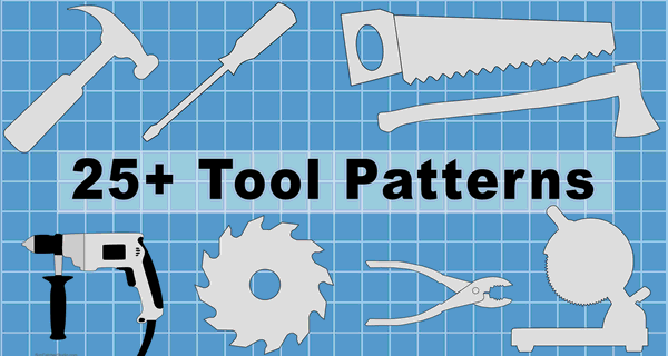 Tool Patterns Clip Art, Designs, and Templates