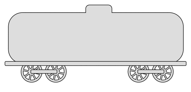 Free Tank car (Set 2) template.  vector, cricut, silhouette, train car clipart, patterns, stencils, templates, cricut, scroll saw, svg, coloring page, quilting pattern