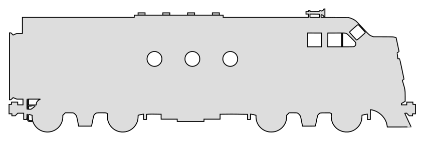 Free Locomotive train engine pattern.  vector, cricut, silhouette, train car clipart, patterns, stencils, templates, cricut, scroll saw, svg, coloring page, quilting pattern