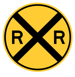 Free Railroad crossing sign template.  vector, cricut, silhouette, train car clipart, patterns, stencils, templates, cricut, scroll saw, svg, coloring page, quilting pattern