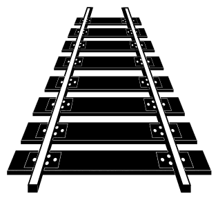 Free Railroad tracks clipart.  vector, cricut, silhouette, train car clipart, patterns, stencils, templates, cricut, scroll saw, svg, coloring page, quilting pattern