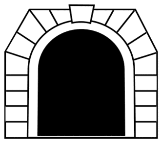 Free Train subway tunnel.  vector, cricut, silhouette, train car clipart, patterns, stencils, templates, cricut, scroll saw, svg, coloring page, quilting pattern