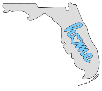 Florida home heart stencil pattern template shape state clip art outline printable downloadable free template map scroll saw pattern, laser cutting, vector graphic.