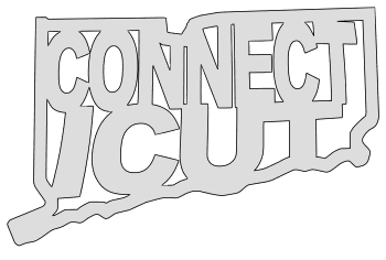 Connecticut map outline shape state stencil clip art scroll saw pattern printable downloadable free template, laser cutting, vector graphic.