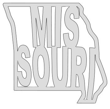Missouri map outline shape state stencil clip art scroll saw pattern printable downloadable free template, laser cutting, vector graphic.