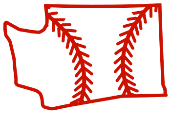 Free Washington outline with baseball stitches or softball stitches, cricut or Silhouette design, vector image, pattern, map shape cutting file.