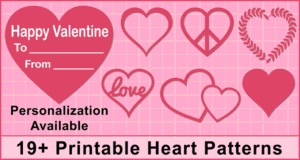 Heart Clipart and Patterns.