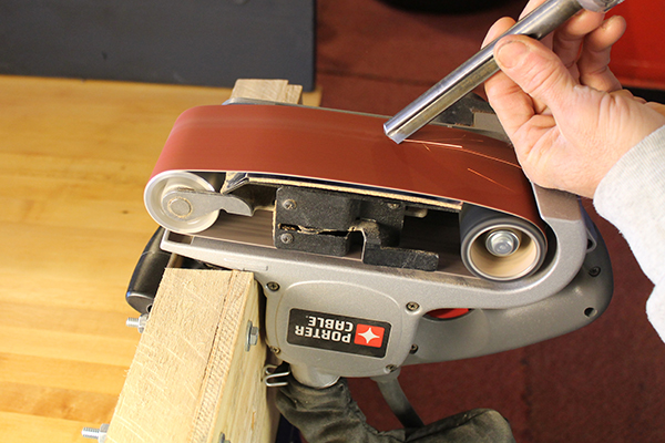 Belt Sander Sharpening System 7 Advantages Save Time