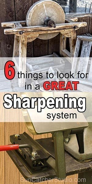 A great sharpening system allows you to quickly sharpen knives, chisels, and other woodworking tools.