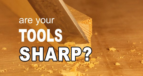 How to Tell if Your Tool is SHARP (chisels, knives, gouges)