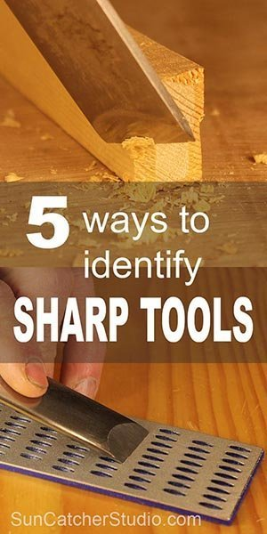 5 Ways to identify SHARP tools. Learn how to determine if your knife, chisel, or gouge is sharp or dull using the fingernail test, thumb test, end grain test, light test, and paper test.