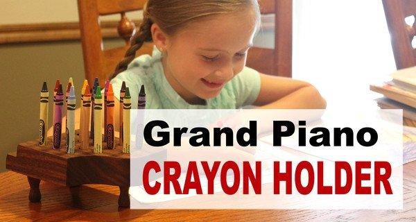 Crayon Holder Plans – Beginner DIY Woodworking Project