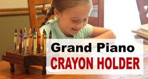 Crayon Holder Plans.