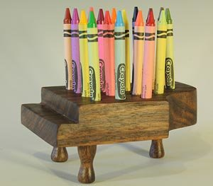 Crayon Holder - easy wood working project.