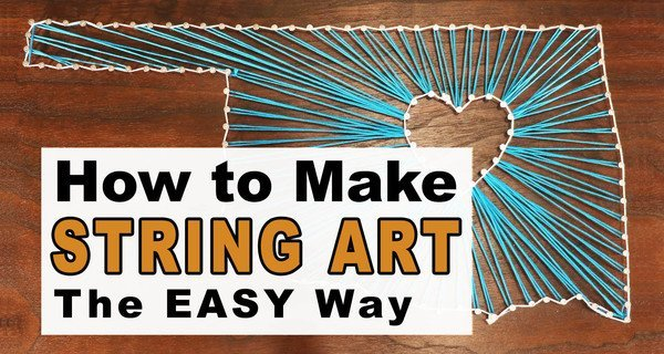 How to Make String Art (Great DIY Project for Kids)