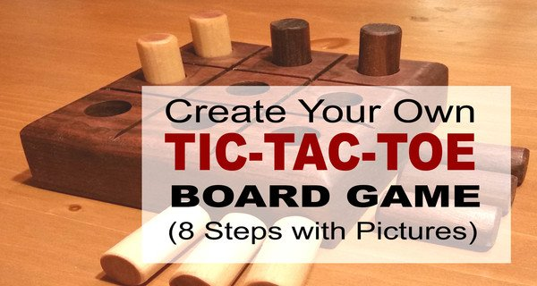 How to Make DIY Tic-Tac-Toe Game (Great Gift Idea)