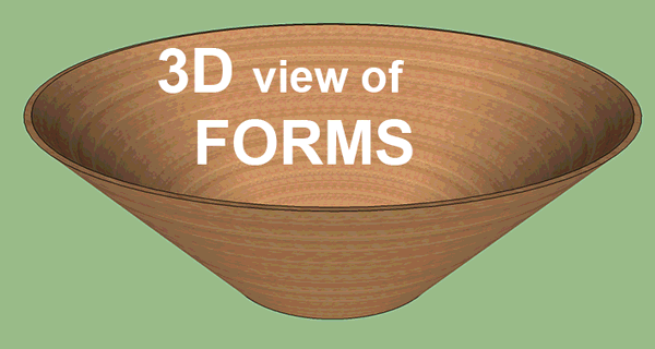 Woodturning Designs (3D Animation) Bowls, Goblets, Hollow Forms, Vases, Vessels