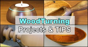 Woodturning Projects and Tips.