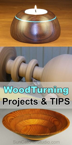 Woodturning Projects, Tips, lathe, and more.