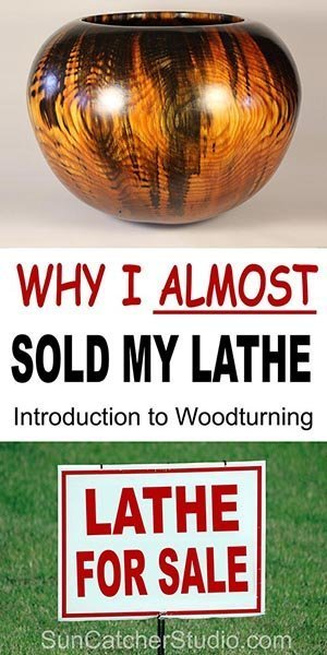 Woodturning for Beginners. Why I almost sold my lathe. Experience some of the problems and challenges involved with turning wood. Learn from my mistakes as you begin your journey into turning wood.