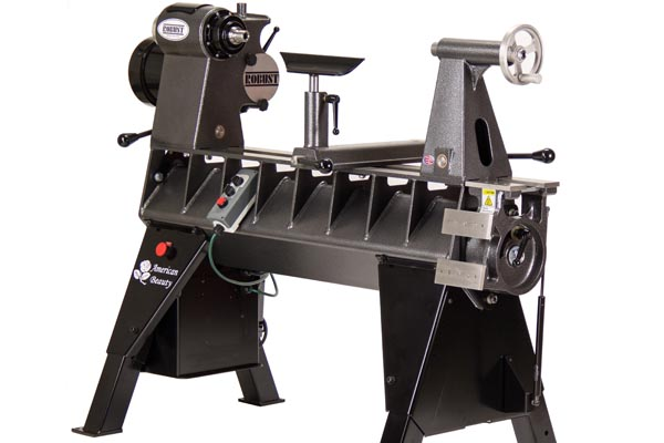 Robust American Beauty wood lathe.