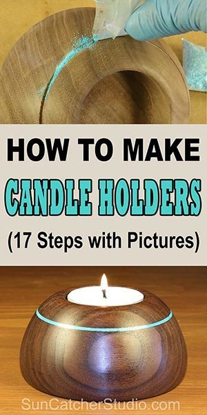 How to make Candle Holders (Woodturning Project) for the wood lathe.