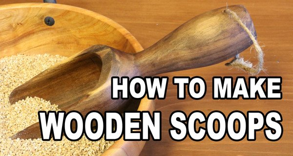 How to Make Wooden Scoops (Woodturning Project)
