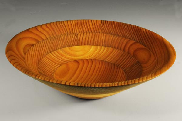 Enjoy your finished segmented bowl (woodturning project)
