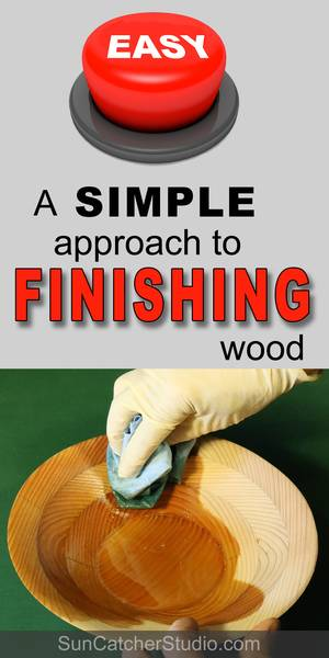 Wood finishing made easy.  Tips, techniques and secrets on how to finish wood.  Includes food safe and natural finishes for kitchen pieces. Along with pointers on how to protect art and furniture.