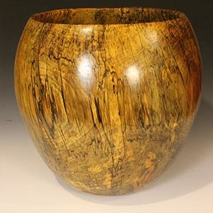 Spalted Sycamore bowl: 20in x 18in (51cm x 46cm)