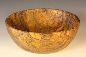 Spalted Elm bowl: 9