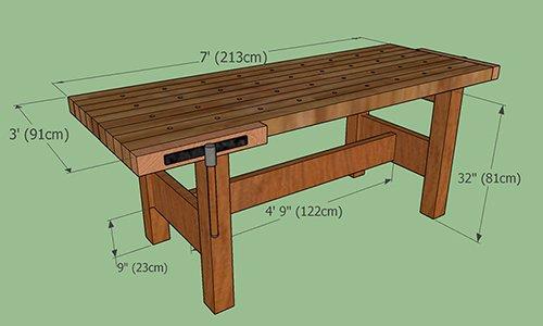 Terrific Workbench Plans Tips Ideas On Portable Diy Garage Pdpeps Interior Chair Design Pdpepsorg