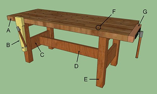 Workbench Plans Tips Ideas On Portable Diy Garage